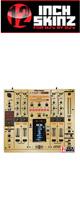 12inch SKINZ / Pioneer DJM-2000NXS SKINZ Metallics (Brushed Gold) - 【DJM-2000NXS用スキン】