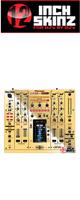 12inch SKINZ / Pioneer DJM-2000NXS SKINZ Metallics (Mirror Gold) - 【DJM-2000NXS用スキン】