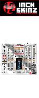 12inch SKINZ / Pioneer DJM-2000NXS SKINZ Metallics (Mirror Silver) - 【DJM-2000NXS用スキン】