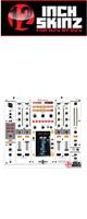 12inch SKINZ / Pioneer DJM-2000NXS SKINZ (WHITE/GRAY) - 【DJM-2000NXS用スキン】