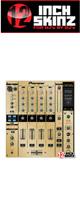 12inch SKINZ / Pioneer DJM-800 SKINZ (Brushed Gold) - 【DJM-800用スキン】