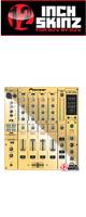 12inch SKINZ / Pioneer DJM-800 SKINZ (Mirror Gold) - 【DJM-800用スキン】