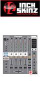 12inch SKINZ / Pioneer DJM-800 SKINZ (Gray) - 【DJM-800用スキン】