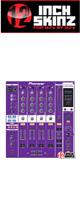 12inch SKINZ / Pioneer DJM-800 SKINZ (Purple) - 【DJM-800用スキン】