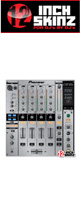 12inch SKINZ / Pioneer DJM-800 SKINZ (Brushed Silver) - 【DJM-800用スキン】
