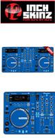 12inch SKINZ / Pioneer XDJ-R1 SKINZ (BLUE) 【XDJ-R1用スキン】