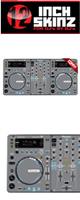 12inch SKINZ / Pioneer XDJ-R1 SKINZ (Gray) 【XDJ-R1用スキン】