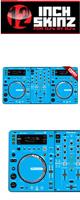 12inch SKINZ / Pioneer XDJ-R1 SKINZ (Light Blue) 【XDJ-R1用スキン】