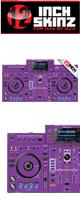 12inch SKINZ / Pioneer XDJ-RX SKINZ (Purple) 【XDJ-RX用スキン】