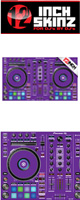 12inch SKINZ / Pioneer DDJ-RR SKINZ (Purple) 【DDJ-RR用スキン】