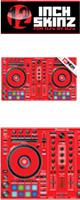 12inch SKINZ / Pioneer DDJ-RR SKINZ (RED) 【DDJ-RR用スキン】