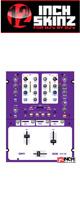 12inch SKINZ / Rane Sixty One Skinz (Purple) 【 Sixty One 用スキン】