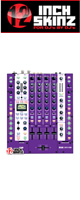 12inch SKINZ / Rane SIXTY-FOUR Skinz (Purple) 【SIXTY-FOUR 用スキン】