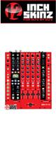 12inch SKINZ / Rane SIXTY-FOUR Skinz (Red/Black) 【SIXTY-FOUR 用スキン】
