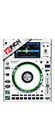 12inch SKINZ / Denon SC5000 Prime SKINZ (WHITE/BLACK) ペア 【SC5000 Prime用スキン】
