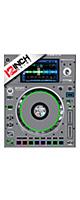 12inch SKINZ / Denon SC5000 Prime SKINZ (GRAY) ペア 【SC5000 Prime用スキン】