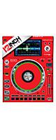 12inch SKINZ / Denon SC5000 Prime SKINZ (RED) ペア 【SC5000 Prime用スキン】