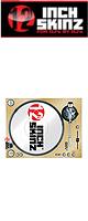 12inch SKINZ / Stanton STR8.150 Skinz (Brushed GOLD) ペア 【STR8.150用 マグネットタイプスキン】