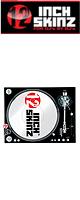 12inch SKINZ / Stanton STR8.150 Skinz (BLACK) ペア 【STR8.150用 マグネットタイプスキン】