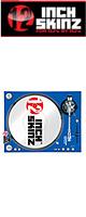 12inch SKINZ / Stanton STR8.150 Skinz (BLUE) ペア 【STR8.150用 マグネットタイプスキン】