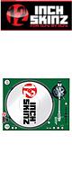 12inch SKINZ / Stanton STR8.150 Skinz (GREEN) ペア 【STR8.150用 マグネットタイプスキン】