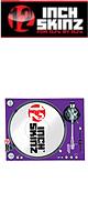 12inch SKINZ / Stanton STR8.150 Skinz (PURPLE) ペア 【STR8.150用 マグネットタイプスキン】