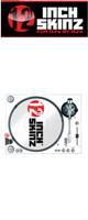 12inch SKINZ / Stanton STR8.150 Skinz (WHITE) ペア 【STR8.150用 マグネットタイプスキン】