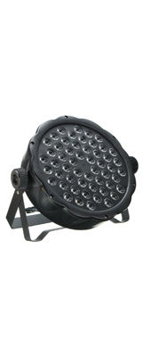 DMXコントロール 54LED パーライト / パーティ照明 ライブ 舞台 演出 照明機材