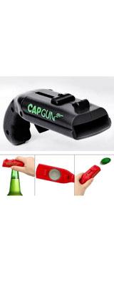 銃型(ピストル型) ボトルオープナー 栓抜き (ブラック) / おもちゃ