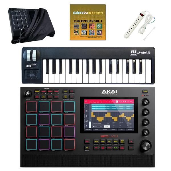 AKAI(アカイ) / MPC LIVE2 [スタンドアローン型MPC] 充電式バッテリー・スピーカー内蔵 /  ドラムマシン サンプラー
