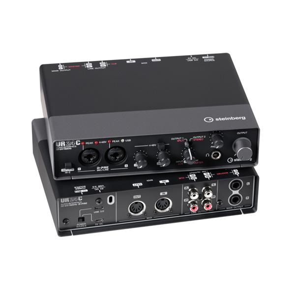 STEINBERG(スタインバーグ) / UR24C / 2 X 4 USB 3.0 オーディオインターフェース 【5月22日発売】
