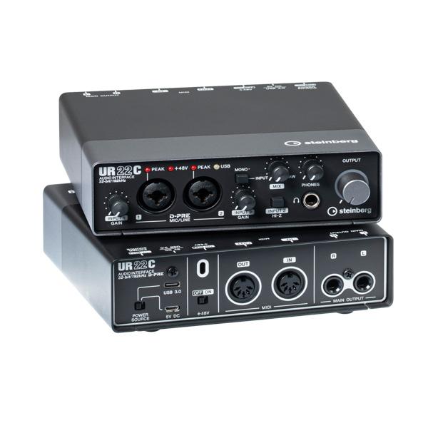 STEINBERG(スタインバーグ) / UR22C / 2イン x 2アウト USB 3.0 オーディオインターフェース