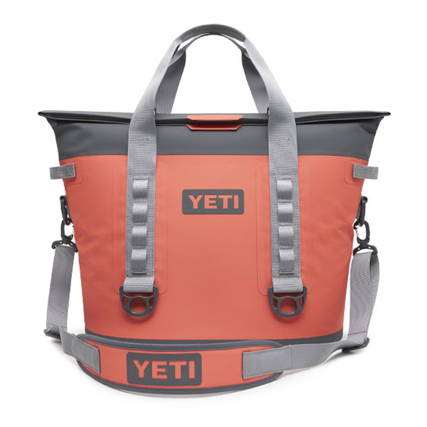 YETI COOLERS(イエティクーラーズ) / YETI Hopper M30 (Coral) / ホッパー ポータブルソフトクーラー トートバッグ エコバッグ アウトドア