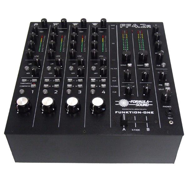 Formula Sound / FF4.2R 4チャンネル DJ用ロータリーミキサー