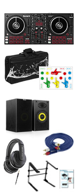 【DJスターターセッ ト】Numark(ヌマーク) / MixTrack Pro FX 【Serato DJ Lite 付属】 PCDJコントローラー 14大特典セット