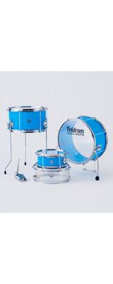 Foldrum(フォルドラム) / Pop 小口径セット (金属パーツ:クローム) / 折り畳み コンパクト /  ドラムセット 2大特典セット