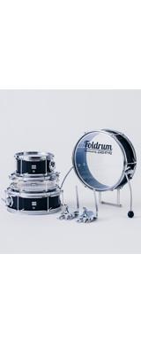 Foldrum(フォルドラム) / Pop 超小口径セット (金属パーツ:クローム)  / 折り畳み コンパクト /  ドラムセット 2大特典セット