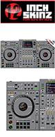 12inch SKINZ / Pioneer XDJ-XZ SKINZ (Gray)  【XDJ-XZ用スキン】
