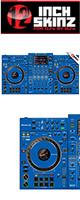 12inch SKINZ / Pioneer XDJ-XZ SKINZ (BLUE)  【XDJ-XZ用スキン】