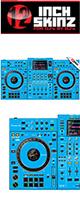 12inch SKINZ / Pioneer XDJ-XZ SKINZ (Light Blue)  【XDJ-XZ用スキン】