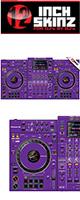 12inch SKINZ / Pioneer XDJ-XZ SKINZ (Purple)  【XDJ-XZ用スキン】