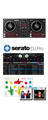 【Serato DJ Proセット】Numark(ヌマーク) / MixTrack Pro FX 【Serato DJ Lite 付属】 PCDJコントローラー 4大特典セット