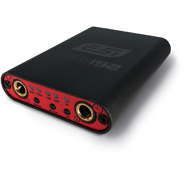 ESI(イーエスアイ) / UGM192 - ギター入力対応モバイルオーディオインターフェース  -