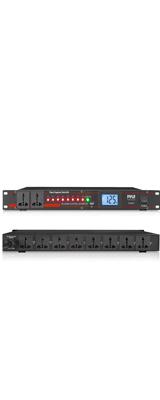 Pyle (パイル) / PCO875 / 最大電力2000W / 充電用USBポート付き / マルチコンセント / 10口 AC 電源コントローラー 電源ラック