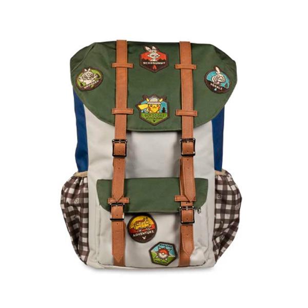 Pokemon Center(ポケモンセンター) / Outdoors with Pokemon Camper Backpack / 海外限定 / ピカチュウ バックパック リュック