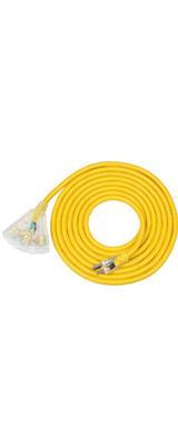 DEWENWILS / HTOY15C / 15フィート(約4.5m) / 3P 電源ケーブル 延長 スプリットケーブル ACコード