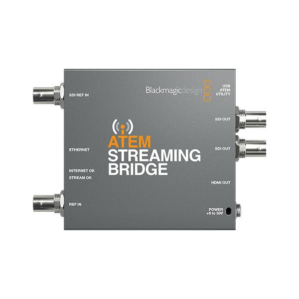 Blackmagic Design / ATEM Streaming Bridge  【ATEM Mini Pro,ATEM Mini Pro ISO対応】