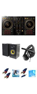 Pioneer DJ(パイオニア) / DDJ-400-N(ゴールド) 激安初心者Bセット【rekordbox dj 無償】 9大特典セット