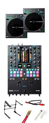 Rane(レーン) / SEVENTY-TWO MK2 & TWELVE MK2 2台セット 【Serato DJ Pro DVS 無償対応】 4大特典セット