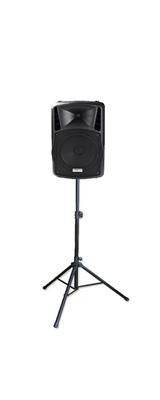 【スピーカースタンドセット】 DJ-Tech (ディージェーテック) / FPX-G12BTE / ESS-3302 /  充電式 簡易PAシステム